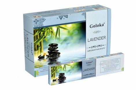 Goloka Aromatherapy Lavender-Levendula masala füstölő