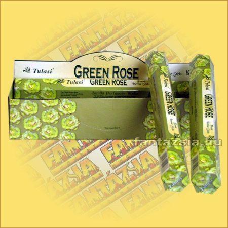 Zöld Rózsa füstölő/Tulasi Green Rose
