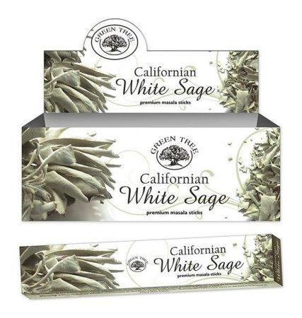 Green Tree-Californian White Sage-Kaliforniai Fehér Zsálya Masala Füstölő