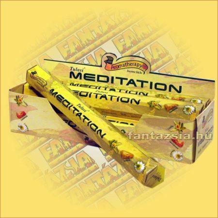 Meditáció/Meditation Tulasi Aromaterápiás füstölő
