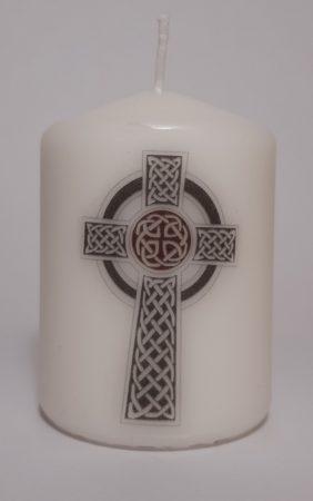 Kelta Kereszt-kicsi gyertya