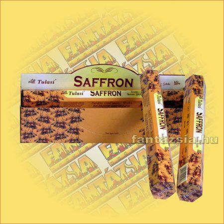 Sáfrány füstölő/Tulasi Saffron