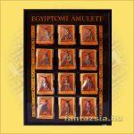 Egyiptomi Amulett Szett Bemutatótáblán