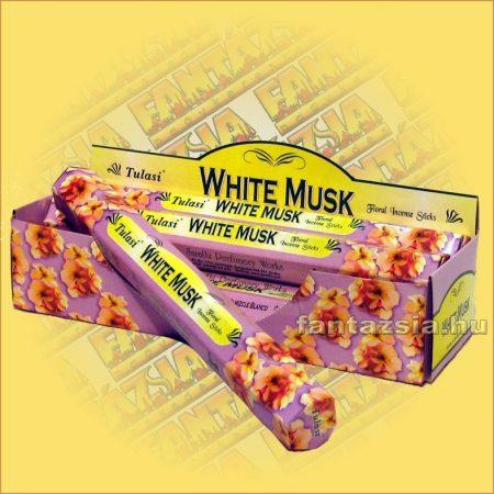 Fehér pézsma füstölő/Tulasi White Musk