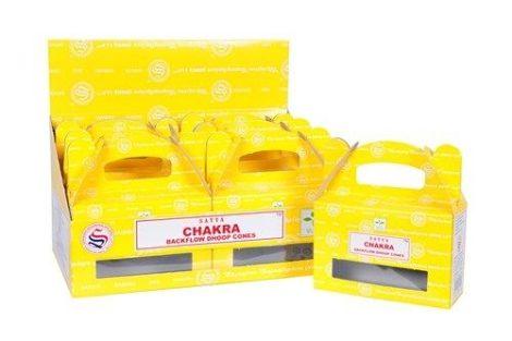 Satya Backflow-Chakra-Kúpfüstölő (folyékony füst)
