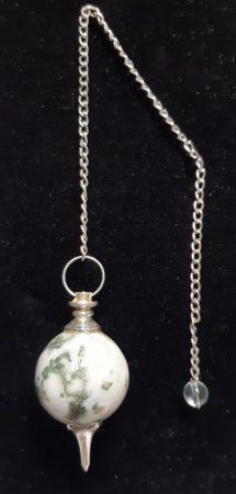 ásvány inga - Merlinit/Faachát - gömb csiszolású