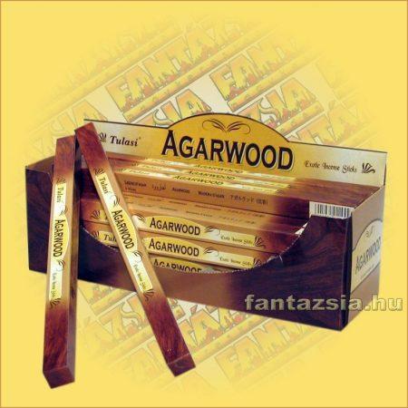 Agarfa füstölő/Tulasi Agarwood