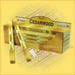 Cédrus füstölő/Tulasi Cedarwood