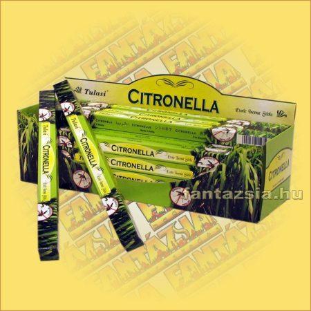 Citromfu füstölő/Tulasi Citronella