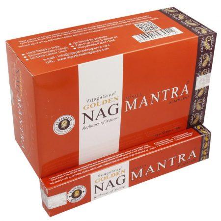 Golden Nag Mantra Masala Füstölő