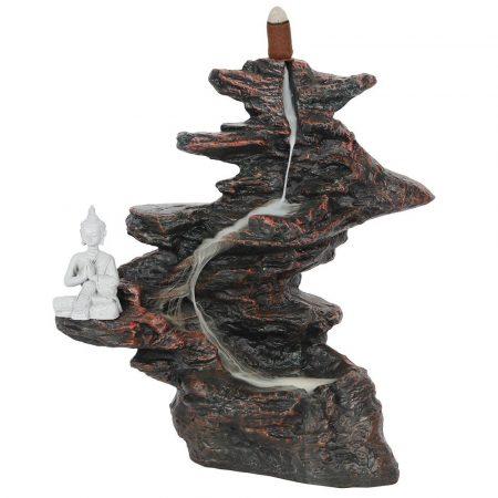 Nagy Szikla Buddhával-Back Flow-lefelé áramlós füstölőtartó