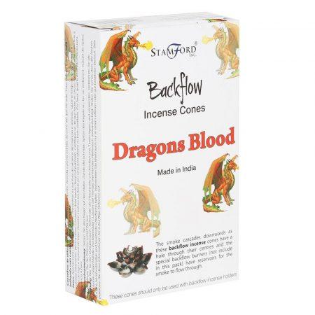 Tulasi-Stamford-Dragons Blood-Sárkányvér-Backflow füstölőkúp