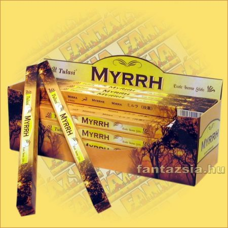 Mirha füstölő/Tulasi Myrrh