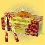 Vörös Rózsa füstölő/Tulasi Red Rose