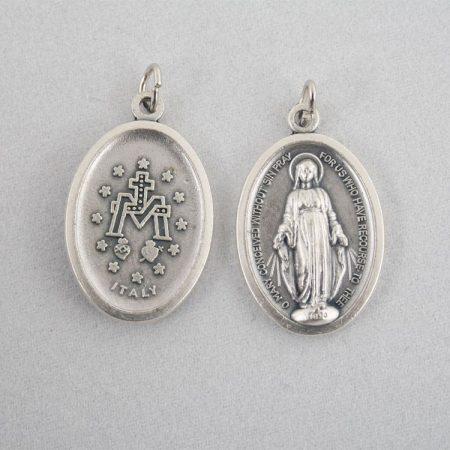 Csodás Szűzanya Ezüstözött Érme