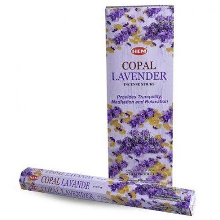 Hem Copal Lavender/Hem Copál Levendulás indiai füstölő