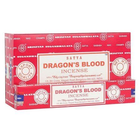 Dragon'S Blood-Sárkányvér  Satya Masala Füstölő