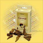 Kókusz illatú kúpfüstölő