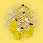 Álomfogó-Álomőrző-Álomcsapda sárga 6cm