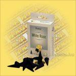 Fehér rózsa illatú kúpfüstölő
