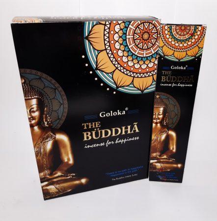 Goloka The Buddha/Arany Buddha  Masala Füstölő