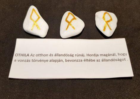 OTHILA-Rúna talizmán-görög márvány