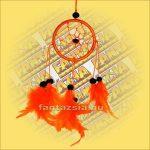 Álomfogó-Álomőrző-Álomcsapda narancssárga 6cm