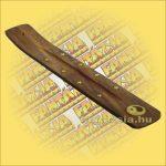 Füstölőtartó léc (Füstölőtartó papucs) Yin Yang Díszítéssel