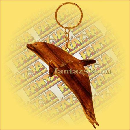 Kulcstartó Delfin Antik