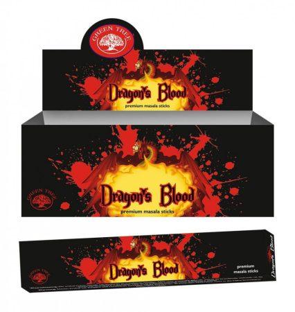 Green Tree-Dragon's Blood-Sárkányvér-Masala Füstölő