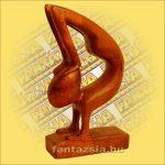 Absztzrakt Fafaragvány 15cm A,Indnéz Sono Fa