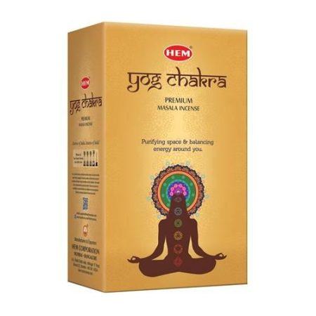 HEM Yog Chakra Indiai maszala füstölő/HEM YOG CHAKRA