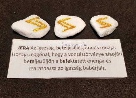 JERA-Rúna talizmán-görög márvány