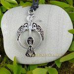 Holló - Kelta Amulett