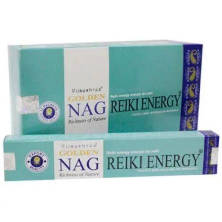Golden Nag Reiki Energy Masala Füstölő