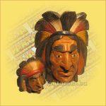Indiánfej mix