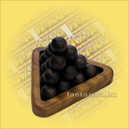 Játék golyós piramis