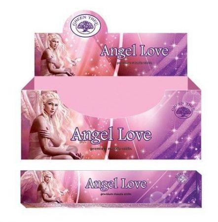 Green Tree-Angel Love-Angyal Szerelem Masala Füstölő