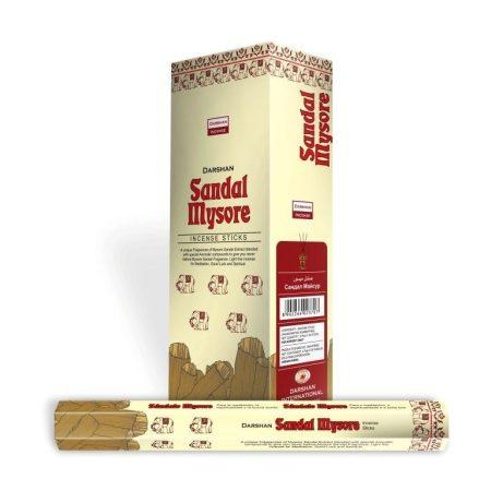 Darshan kollekció-Sandal Mysore-Szantál indiai  füstölő