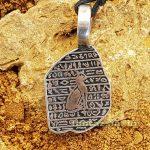 Rosette-i kő - egyiptomi Amulett