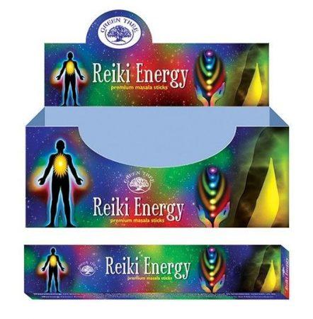 Green Tree-Reiki Energy-Reiki Energia Masala Füstölő