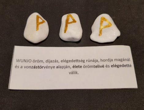 WUNJO-Rúna talizmán-görög márvány