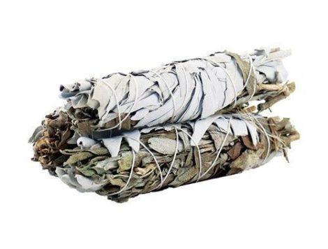 White Sage & Black Sage-Fehér Zsálya és Fekete Zsálya köteg