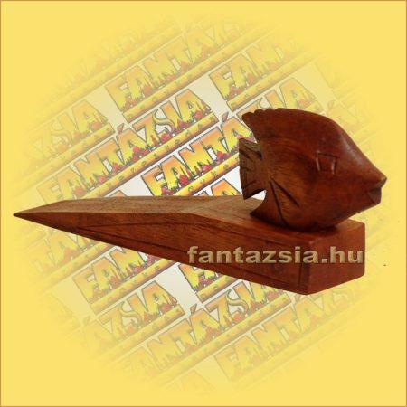 Ajtótámasz Trópusi hal figurával