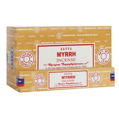 Myrrh-Mirha Satya Masala Füstölő
