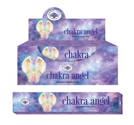 Green Tree-Chakra Angel-Csakra Angyal Masala Füstölő