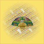 Thai selyemlegyező 20cm