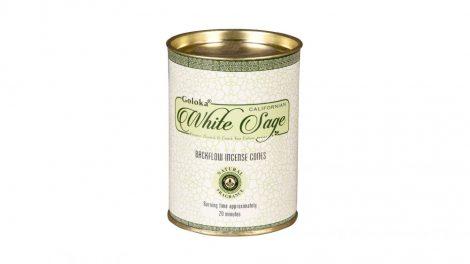 Goloka White Sage-Fehér Zsálya   Back Flow Kúpfüstölők