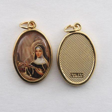 Szent Rita Aranyozott Érem
