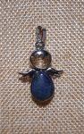 Félcsepp-Angyal Medál-Lapisz Lazuli